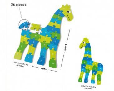 giraf puzzel